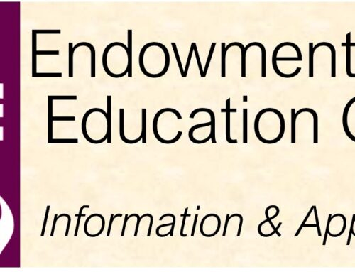 Education Grant Application – Endowment Fund
